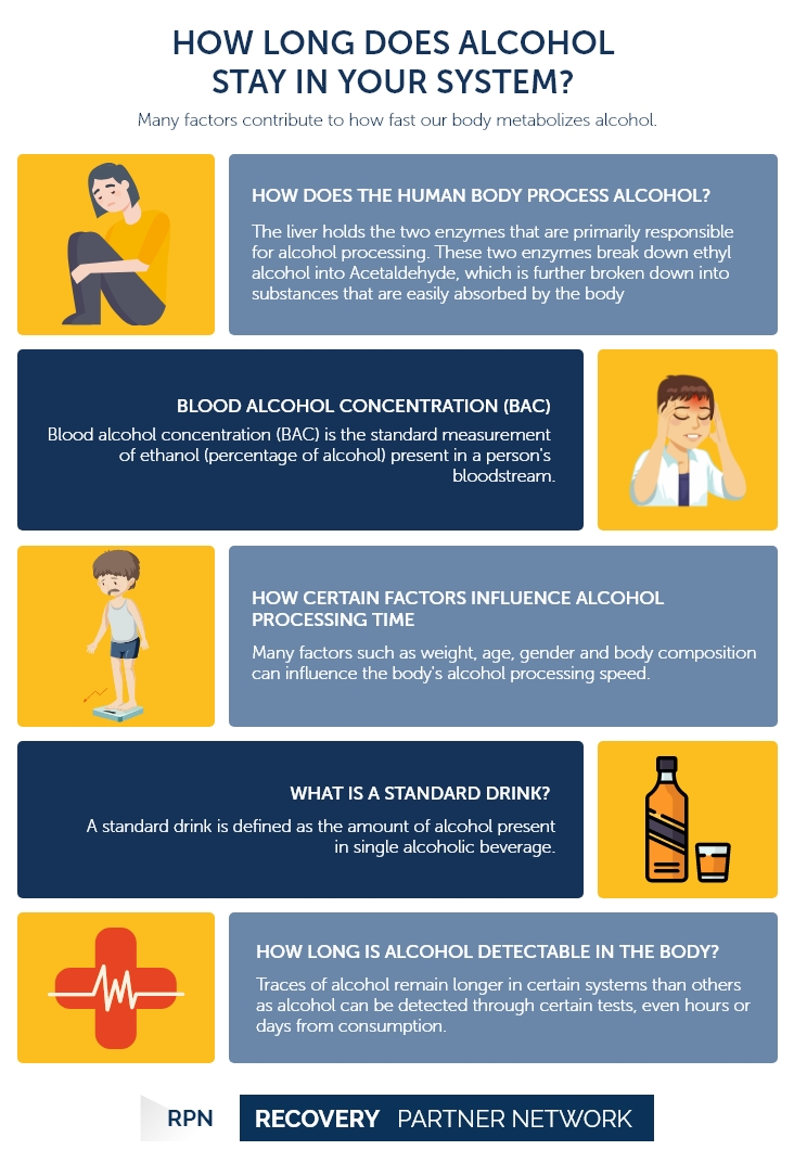How Long Does AlcoholStayin Your System?